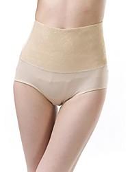 algodón / lycra de cintura alta bragas de conformación de impresión sexy