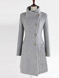 Miyue Women's Fashion  Korean Slim Waisted Coat Coat