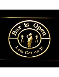 bar m119 est ouvert passons sur ce signe de néon