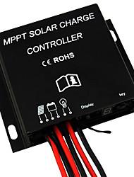 Contrôleur de charge de la batterie de panneau solaire 10a MPPT 12V 24V étanche IP68 minuterie 120w / 240w