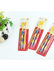 2 PCS Nano Material Soft Toothbrush(Random Color)