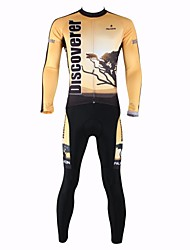 PALADIN Men's Cycling Clothing Sets/Suits Long Sleeve Bike Spring / Summer / Autumn Breathable / Quick Dry YellowS / M / L / XL / XXL /