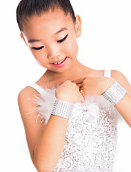 Performance/Dancewear Spandex Wrist Accessory With Rhinestone