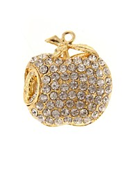 ZP 64GB Diamond Apple Pattern Bling Diamond Metal Style USB Flash Drive