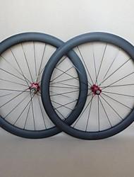 UDELSA WH-R50C Fat Rims 700C 25mm Wide Carbon Road Wheels 50mm Racing Wheelset
