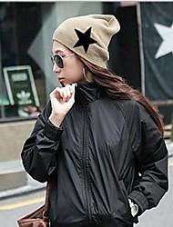 женская мода личности теплый пентаграмма водолазка шляпа