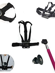 Gopro Accessories Chest Harness / Front Mounting / Monopod / Adhesive Mounts / Straps / Mount/Holder / Accessory KitFor-Action Camera,