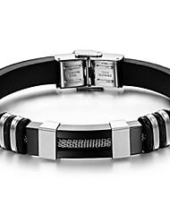 z&X® moda personalidade pulseiras de aço coringa titânio dos homens