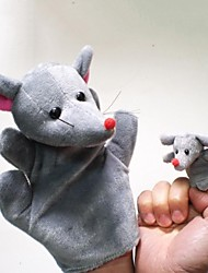 Amazing Mice Plush Mouse Hand Puppets Children  Glove  Play Toy