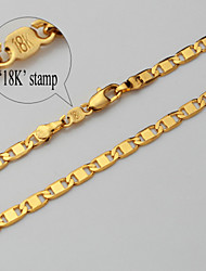 topgold toute la chaîne de correspondance collier de lien