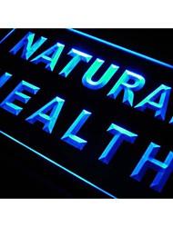M030 santé naturels signe de néon