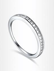 Bagues Affirmées Zircon Imitation de diamant Alliage Mode Écran couleur Bijoux Soirée 1pc