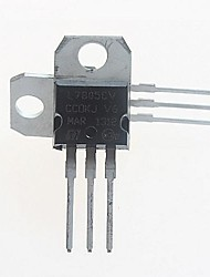 l7805cv régulateur de tension 5v / 1.5a à 220 (5pcs)