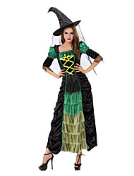 Dresses Women's Performance Polyester Green Performance Gothic / Halloween