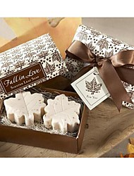Holiday Gifts Mini Maple Leaf  Shape Soap (Random Color)