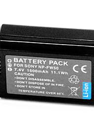 1500mAh Digital Camera Battery NP-FW50 for Sony NEX-3C NEX-5 Alpha A33 A35 A55 A37
