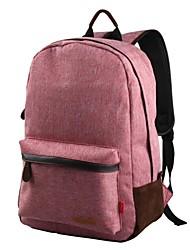 sac à dos mode de l'école de toile de loisirs (de couleurs assorties)