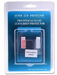 vidrio óptico profesional Protector de pantalla especial para la cámara réflex digital canon 1000d