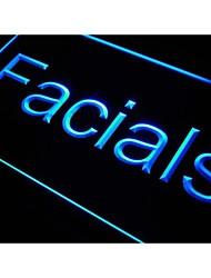 tratamientos faciales j985 signo luz de neón