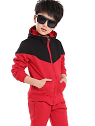 Boy's New Korean Cotton Sports Clothing Sets