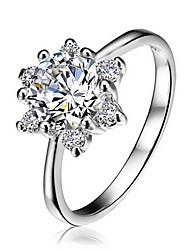 Arow Women's Gold-Plating Zircon Ring