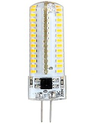 5W G4 Ampoules Maïs LED LED à Double Broches 104 SMD 3014 600 lm Blanc Chaud AC 100-240 V