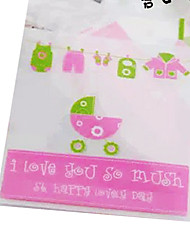Baby Carriage Design Favor Bags-Set Of 10