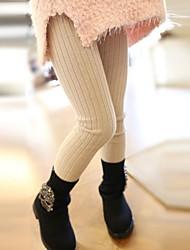 meisje modieuze joker pure kleur dikke warme leggings