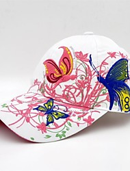 Hou&Tong® Women Fashion Butterfly Embroidery Ivy Cap