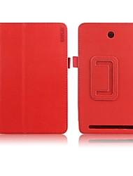 estojo de couro de proteção Enkay pu com suporte para Acer Iconia guia 7 a1-713hd