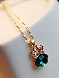 Women's Rhinestone Necklace Daily Rhinestone