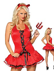 Performance Woman Sultry Devil Costume