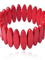 cadeia de luxo bib turquesa funky do bracelete elegante pedra jane das mulheres
