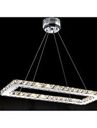 Modern Square Led Dining Room Crystal Chandelier Lights