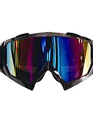 Motorcycle Ski Eyewear Eye Protector Safety Sport Goggle Glasses Lens Colorful