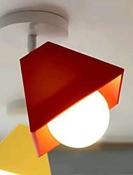montagem embutida europa moda luz 220v de metal cor norte simples moderno