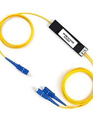 fibra óptica de ramificación bevice