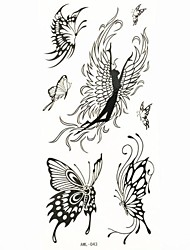 Waterproof Butterfly Temporary Tattoo Sticker Tattoos Sample Mold for Body Art(18.5cm*8.5cm)