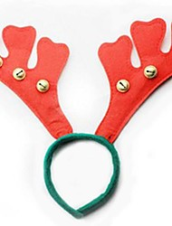 Christmas Antlers with Small Bell