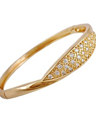 damesmode ronde vorm met witte zirkonia elegant design armbanden