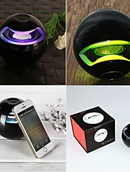 LED Lights Bluetooth Wireless Speaker Super Bass for IPhone Samsung Tablet PC
