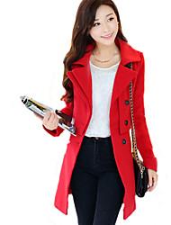 Women's Coats & Jackets , Tweed Long Sleeve