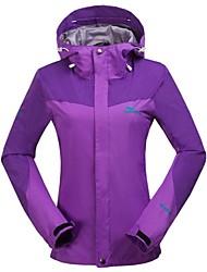 Women's Thermal Fleece Hiking Jacket Purple