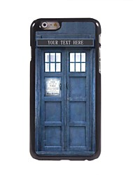 "Personalized Gift Police Box Design Metal Case for iPhone 6 (4.7"")"