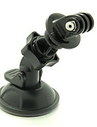 rotazione gp216 egamble mini titolare dello stand macchina universale con ventosa per la macchina fotografica / gps / eroe GoPro 3 + /