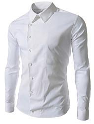 style automne menmax occasionnels de longues chemises sleevecasual CS21