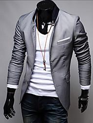 ZLOU Men's Fashion Suits Blazers
