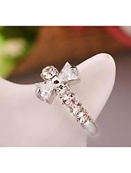 Fashion Korea Butterfly Zircon Alloy Ring Jewelry Gift