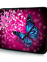 "HUADO® 15"" Colorful Butterfly Laptop Sleeve Case for MacBook Air Pro/HP/DELL/Sony/Toshiba/Asus/Acer"