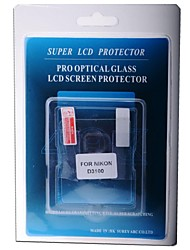 Professional LCD Screen Protector Optical Glass Special for Nikon D3100 DSLR Camera